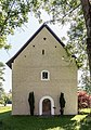 Deutsch-Griffen Spitzwiesen Filialkirche hl Johannes der Täufer West-Ansicht 13062017 9313.jpg