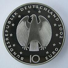 Gedenkmünzen Der Bundesrepublik Deutschland Wikipedia