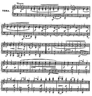 Vaterländischer Künstlerverein - Theme of the Variations - Diabelli's Waltz