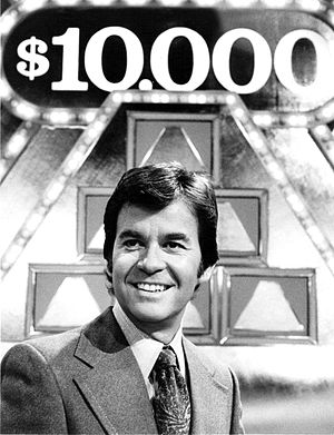 "Pyramid (game show) - Dick Clark as host of ""The $10,000 Pyramid""."