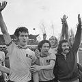 Dick Nanninga, Stanley Bish, Jos Dijkstra, Gerrie de Goede (1975).jpg