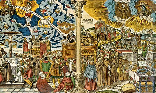 Die wahre Religion Christi und die falsche Lehre des Antichristen