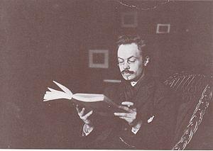 Alphons Diepenbrock - Diepenbrock reading in Witsen's studio (1891)