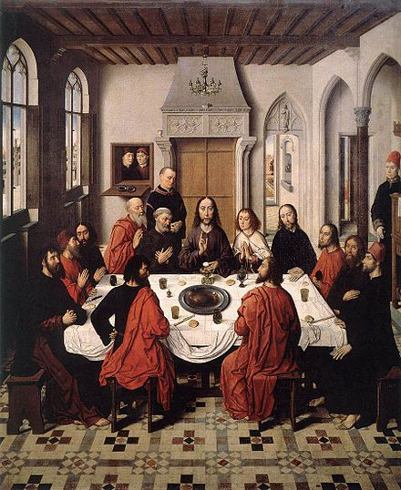 The Last Supper by Dieric Bouts Dieric Bouts - The Last Supper - WGA03003.jpg