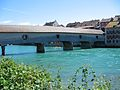 Diessenhofen Rheinbrücke bridge, connecting Germany to Switzerland, pt. 1.jpg