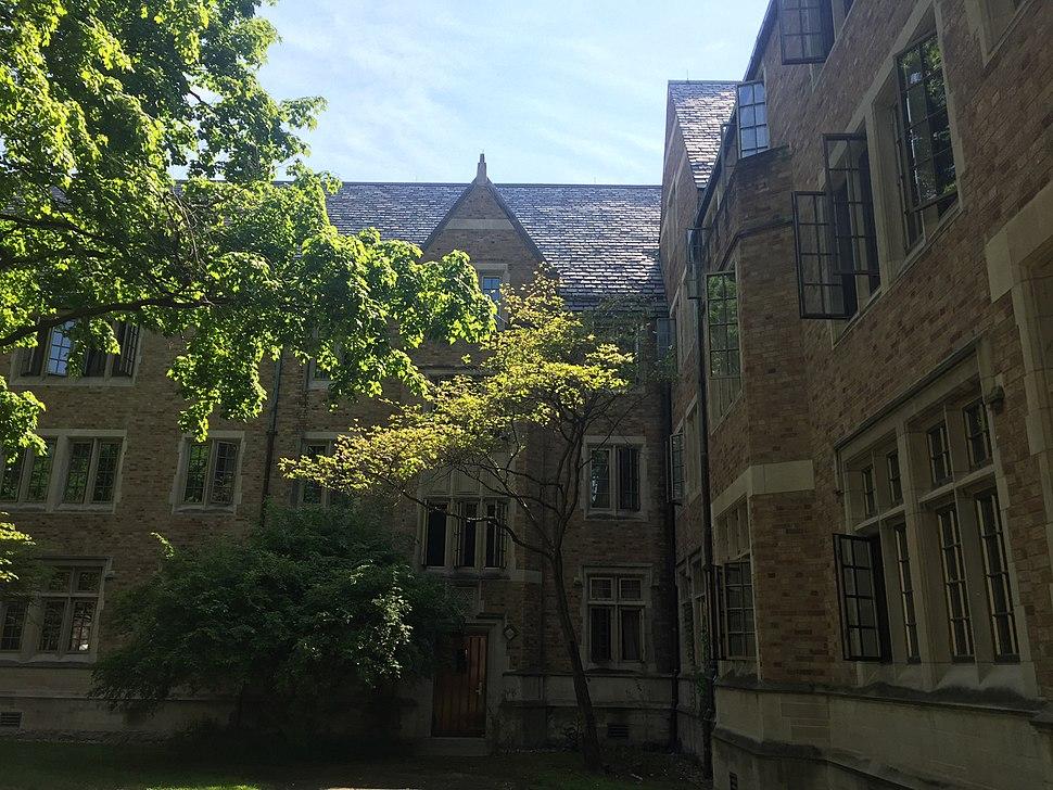 Dillon Hall windows