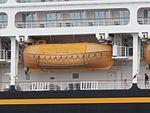 Disney Magic Lifeboat 17 Port of Tallinn 30 May 2017.jpg