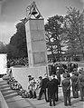 Dodenherdenking, onthulling van het Nationaal Legermonument op de Grebbeberg, Bestanddeelnr 905-7031.jpg