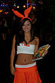 Dofus booth-babe at GamesCom - Flickr - Sergey Galyonkin.jpg
