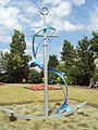 Dolphin's Away sculpture, Cleethorpes - DSC07329.JPG