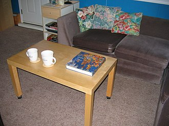 Coffee table book - Coffee table book on a coffee table