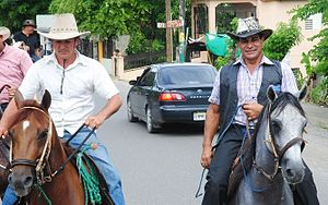 Cibao - Horse riding culture in Cibao.