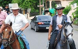 Cibao - Horse riding culture in Cibao.