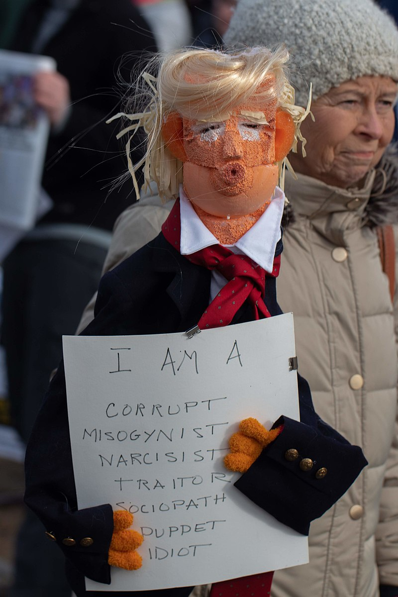 Donald Trump Puppet in the Boston 2019 Womens March.jpg
