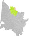 Donnezac (Gironde) dans son Arrondissement.png