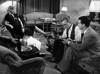 Tom Powers - Powers with Barbara Stanwyck and Fred MacMurray in Double Indemnity (1944)
