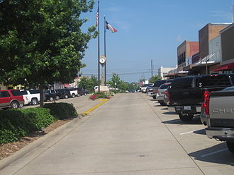 Longview, Texas - Downtown Longview in the historic district