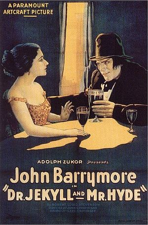 Dr. Jekyll and Mr. Hyde (1920 film) - Theatrical release poster