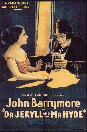 Dr. Jekyll and Mr. Hyde (1920 Paramount film) - Theatrical release poster, 1920