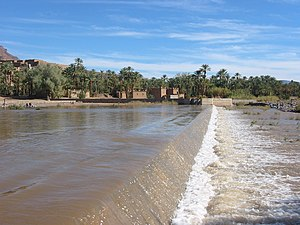 Agdz - Image: Draâ river