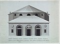 Drawing, Elevation of the Teatro Vaccai, Tolentino, Italy, 1790 (CH 18541821).jpg