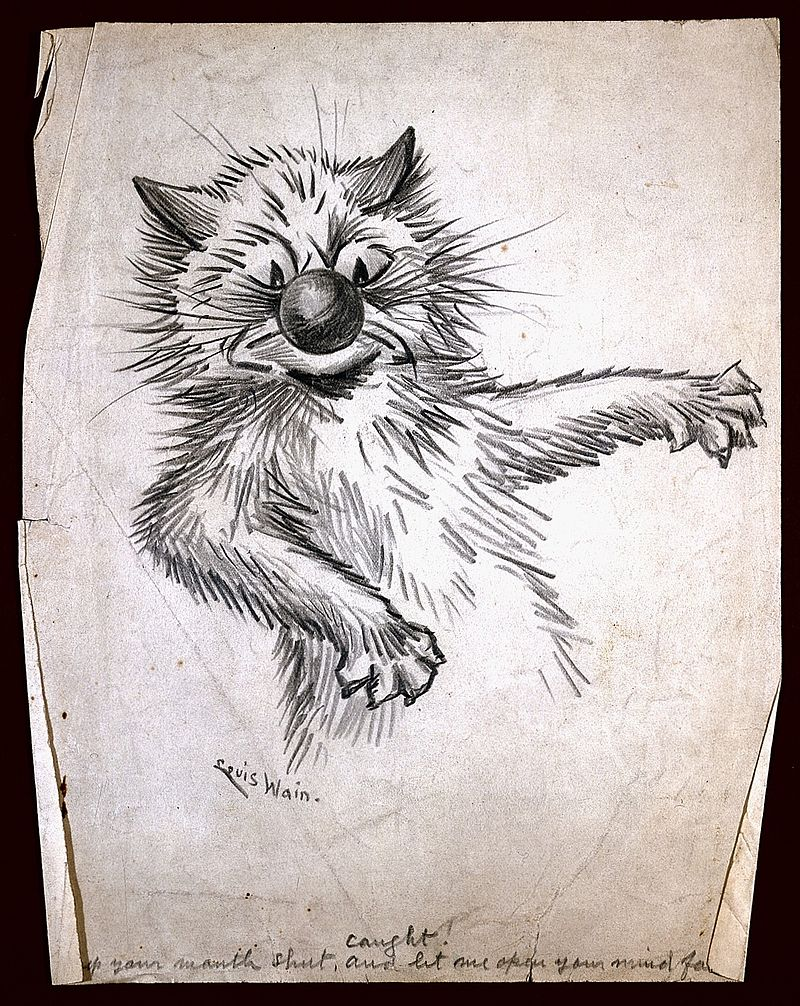 Drawing by Louis Wain. Wellcome L0021302.jpg