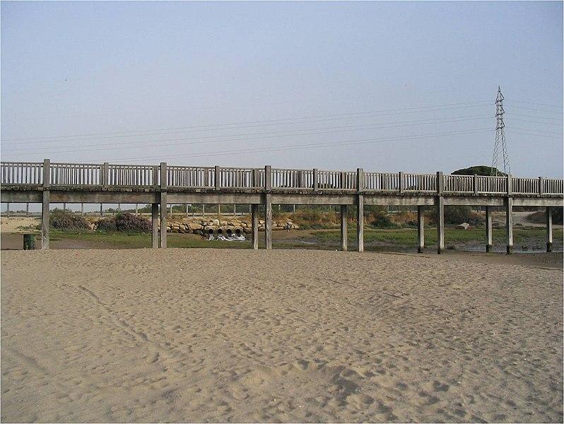 File:Drenaje del Caño de La Cortadura. - panoramio (1).jpg