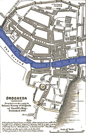 Siege of Drogheda - Image: Drogheda 1649