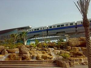 Palm Jumeirah Monorail - Dubai Monorail, 2009