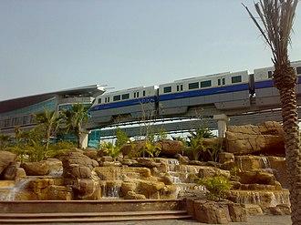 Palm Jumeirah - Palm Jumeirah Monorail