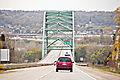 Dubuque Wisconsin Bridge heading toward Iowa.jpg