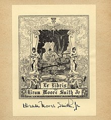 Bookplate by Dugald Stewart Walker