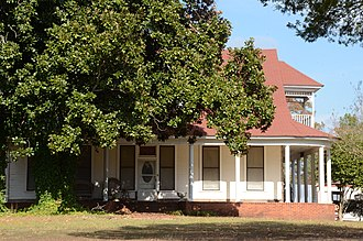 National Register of Historic Places listings in Calhoun County, Arkansas - Image: Dunn House