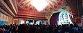 Durga Puja Pandal Interior with Spectators - Baghbazar Sarbojanin Durgotsav - Nivedita Park - Kolkata 2013-10-13 01817-01821.JPG