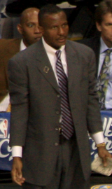 Dwane Casey (left) and Mike D'Antoni (right) were selected as head coach for Team LeBron and Team Stephen, respectively.