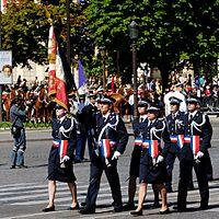 ENSOP flag guard Bastille Day 2008.jpeg