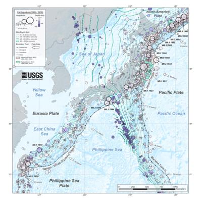地震の年表 (日本) - Wikipedia