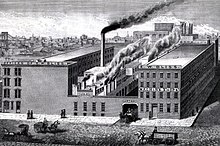 EW Bliss Co munitions factory DUMBO Brooklyn New York 1884.jpg
