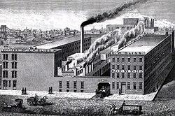 EW Bliss Co munitions factory DUMBO Brooklyn New York 1884.jpg