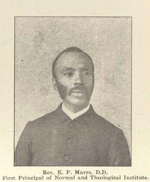 Elijah P. Marrs - Marrs in 1915