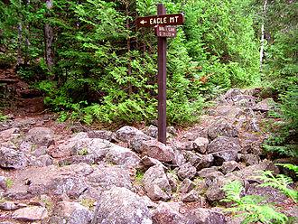 Eagle Mountain (Minnesota) - Image: Eagle Mountain Trail