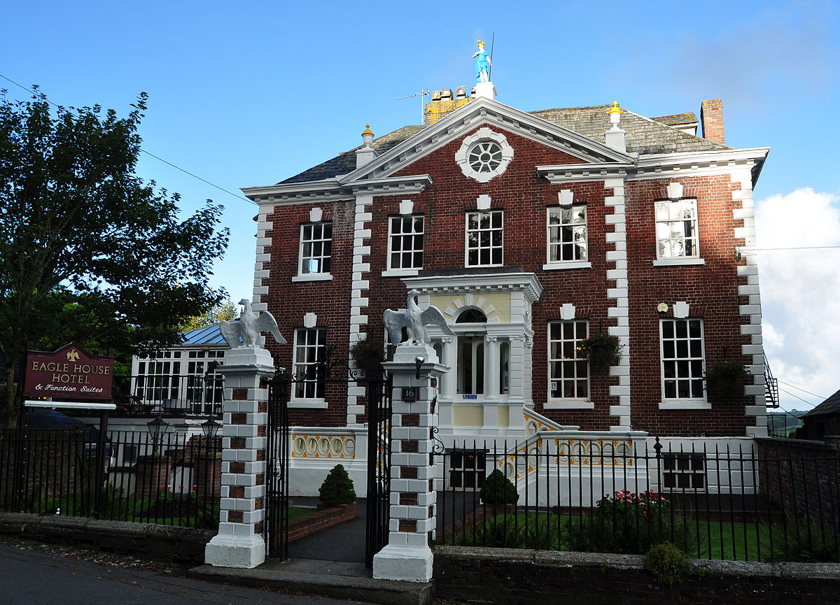 The Eagle House Hotel Launceston Cornwall