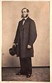 Early CdV - gent with top hat, 1860s (5458735386).jpg