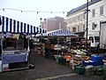 Early morning, Ludlow's Friday market - geograph.org.uk - 1614651.jpg