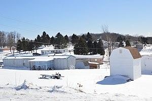 East Carroll Township, Cambria County, Pennsylvania - Trailer park south of Carrolltown