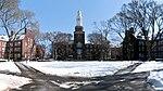 De oostelijke vierhoek van Brooklyn College