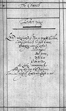 analysis of the poem the collar by george herbert