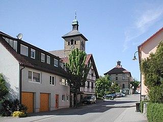 Eberstadt Place in Baden-Württemberg, Germany