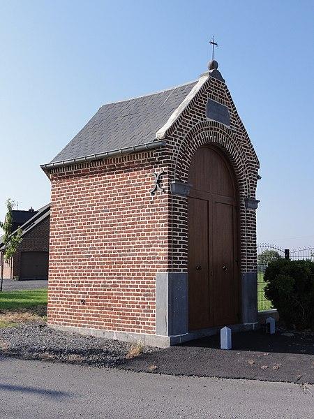 Eccles (Nord, Fr) chapelle Notre Dame de Liesse