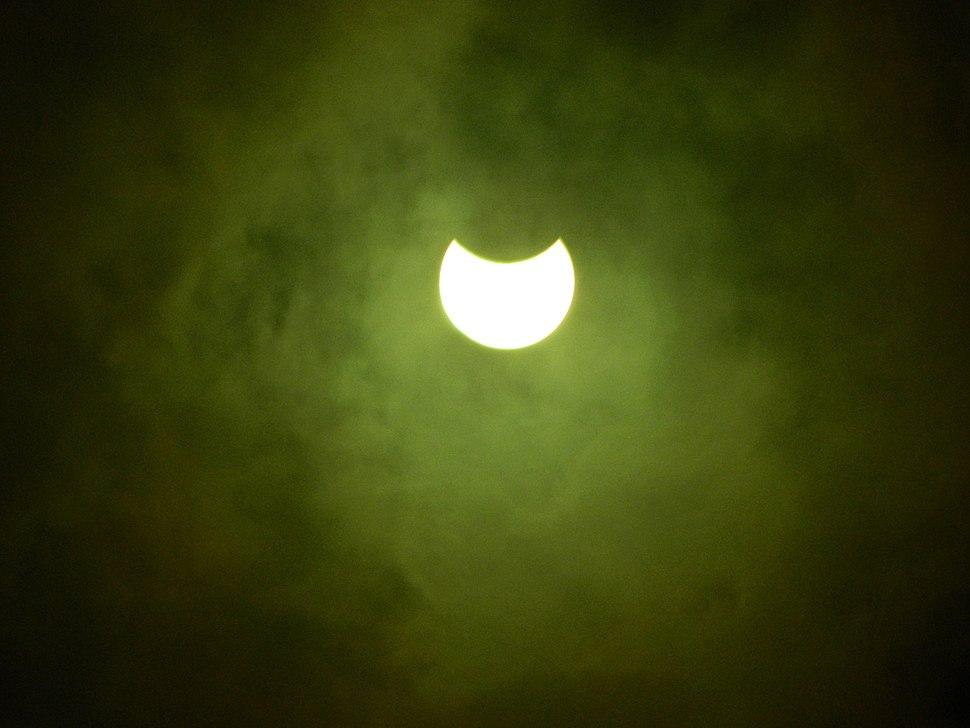 Eclipse Parcial de Sol, del 21 de Agosto 2017 01